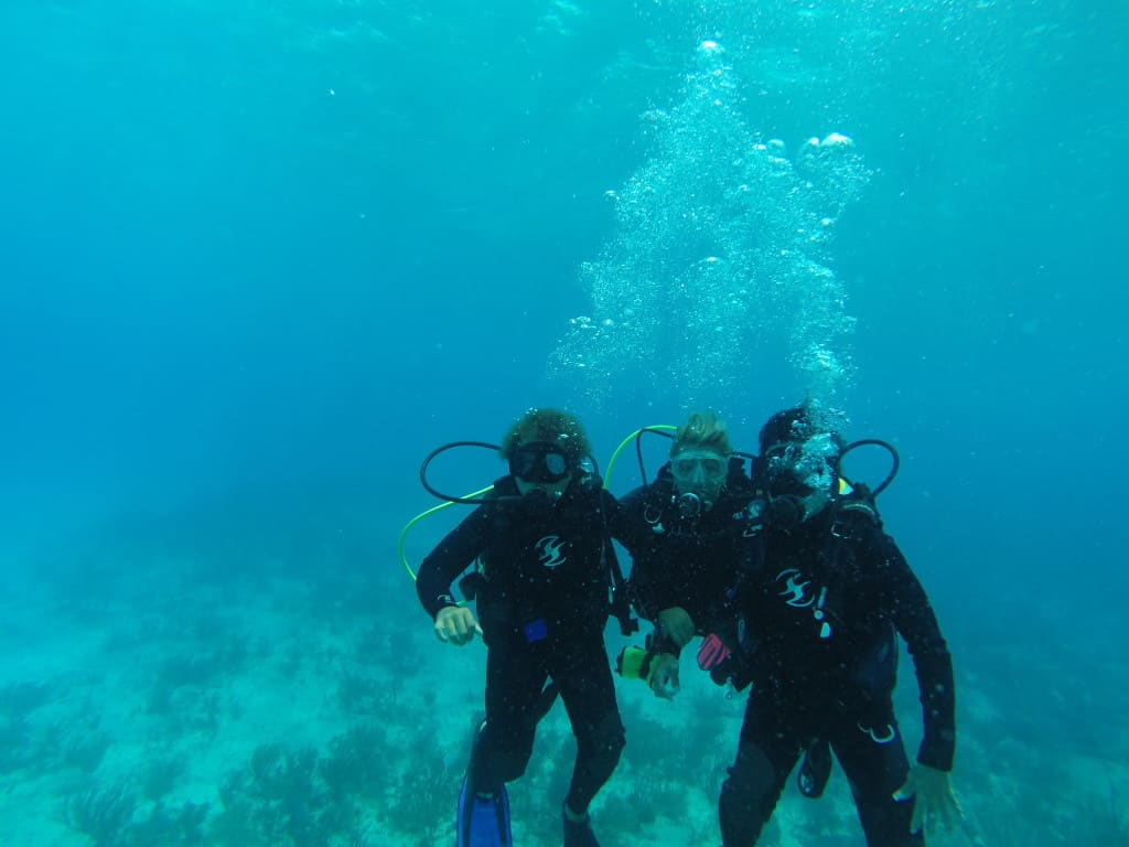 Best scuba instructor in Playa Del Carmen